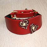 Attached Hearts Martingale Collar