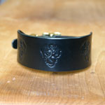 Buckle collar with Dragons