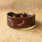 Vintage Dragonflies Buckle Collar (1.5 inch wide)