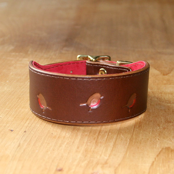 RTB Copper Robins Buckle Collar (1.5 inch wide)