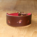 RTB Copper Robins Buckle Collar (1.5 wide)