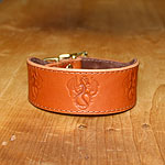 Dragons Leather Buckle Collar (1.5 inch wide)