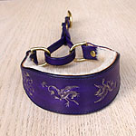 Renaissance Martingale Leather Collar